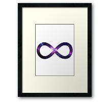 Infinite Galaxy Framed Print