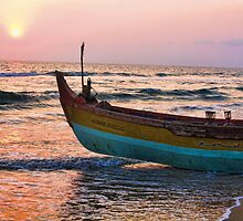 Varkala Beach, Kerala, India by Scootarts