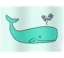 Peace Whale  Poster