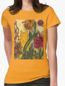 Garden Adventure Womens Fitted T-Shirt