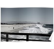 BEACH AT PORT HUENEME Poster