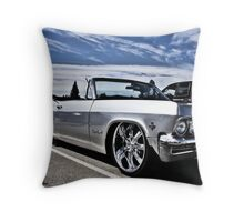 1965 Chevy Impala Throw Pillow