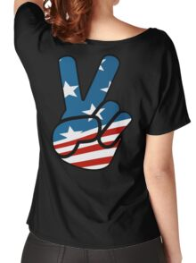 American Peace Women's Relaxed Fit T-Shirt