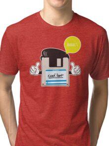 Retro Chic. Tri-blend T-Shirt