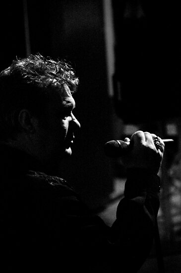 Jimmy Barnes by David Petranker
