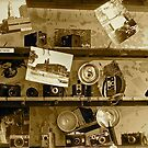 Old Cameras by Caren Grant