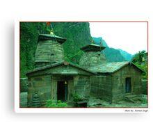 Pandukeshwar Temples Canvas Print
