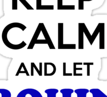 Keep Calm and Let ROHIN Handle it Sticker
