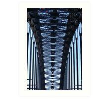 Bridge Vertical Spans Art Print