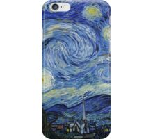 Vincent Van Gogh starry night iPhone Case/Skin