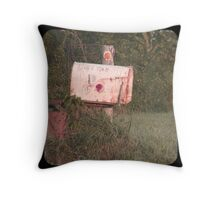 Rural Delivery Throw Pillow