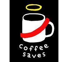 Coffee Jesus Photographic Print