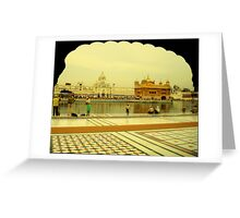 GOLDEN TEMPLE-1 Greeting Card