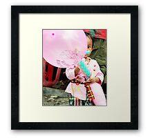 Happy Birthday, Ubud, Bali Framed Print