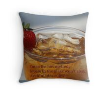 """Archimedes vs """"Climate Change"""" Throw Pillow"""