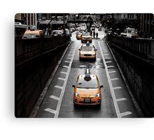 Taxi 8K33 Canvas Print