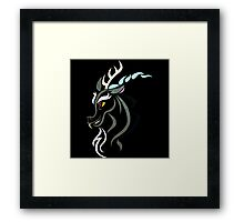 Discord Tribal Framed Print