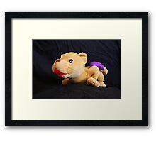 ditto mascot Framed Print