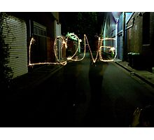 Love in a Laneway! Photographic Print