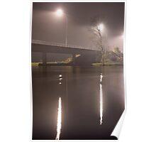 Wairoa River at night 6 Poster