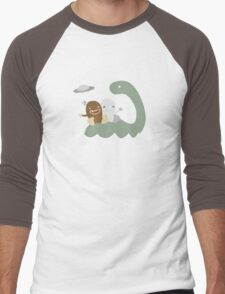 Mythical Creature Party  Men's Baseball ¾ T-Shirt