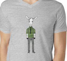 Indie Rock Kid Mens V-Neck T-Shirt
