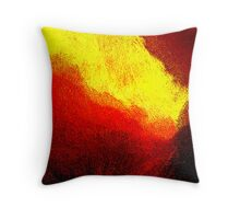 under the volcano.... Throw Pillow