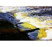 Turbulent waters Photographic Print