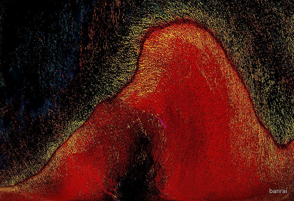 under the volcano....spirit eruption by banrai