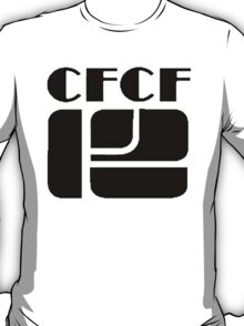 CFCF 12 Montreal 1980s (black on white) T-Shirt