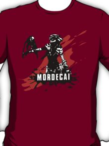 Mordecai (Colored BG) T-Shirt