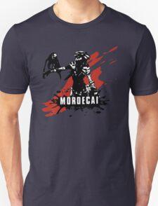 Mordecai (Colored BG) T-Shirt