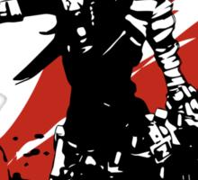 Mordecai (Grey) Sticker