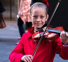 The young violinist by indiafrank