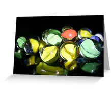 Marbles One Greeting Card
