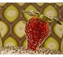 Bubbly Fruit Photographic Print