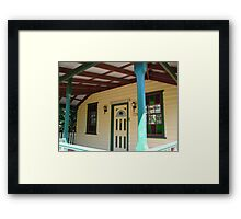 Booroowhangary Facade Framed Print