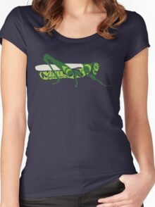 Grasshopper Women's Fitted Scoop T-Shirt