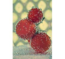 Retro Fruit Photographic Print