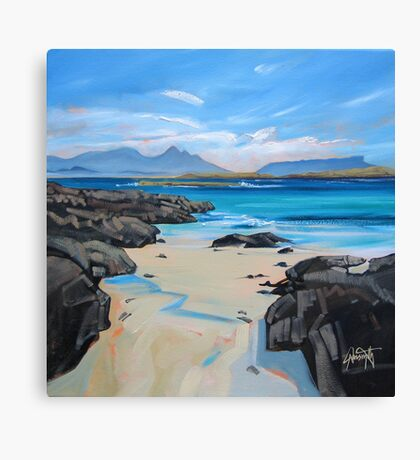 Sanna Bay 2 Canvas Print