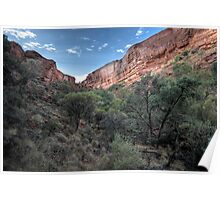 Kings Canyon • Northern Territory Poster