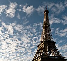 Eiffel Tower at Sunrise by randyharris