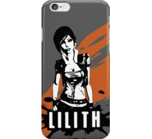 Lilith (Colored BG) iPhone Case/Skin