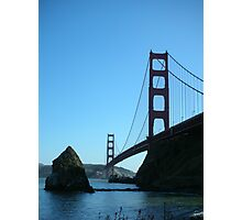 Golden Gate Silhouette Photographic Print