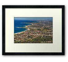 Coastal Plains Framed Print