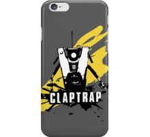 Claptrap (Colored BG) iPhone Case/Skin