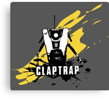 Claptrap (Colored BG) Canvas Print