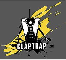 Claptrap (Colored BG) Photographic Print