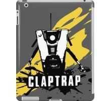 Claptrap (Colored BG) iPad Case/Skin