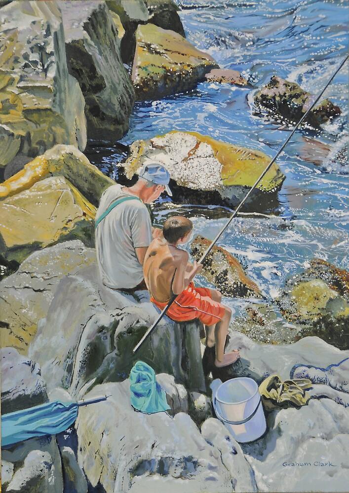 More bait Granpa. by Graham Clark